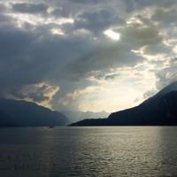 Vista sul centro lago